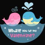 Be My Valentine Whale Pun