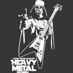 Funny Darth Vader Heavy Metal