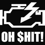 Engine error icon