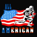 All American Football player 2