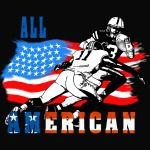 All American Football player 6