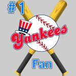 # 1 Yankees Fan Ball Bats BoSox