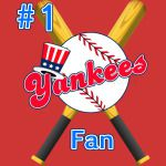 # 1 Yankees Fan Ball Bats BoSox