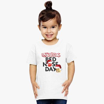 Roblox Christmas Design Red Nose Day Toddler T Shirt Kidozi Com