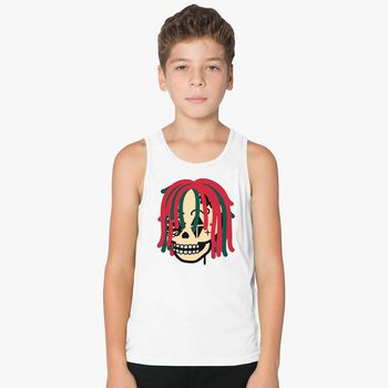 db01cebf55c Gucci Gang Skull Logo Kids Tank Top