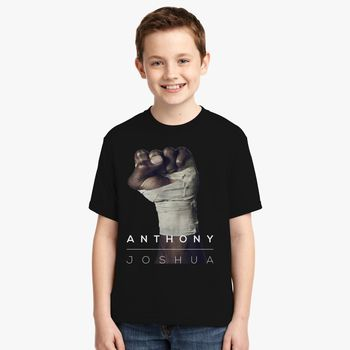 23483343 Anthony Joshua Aj Boxing Youth T-shirt | Kidozi.com