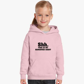 SHH..THIS IS MY HANGOVER HOODIE GLITTER PRINT FROM SMALL TO plus sizes