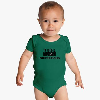 Nickelback BIBS+BABY BODYSUIT ONESIE ONE PIECE CLOTHING  FUNK