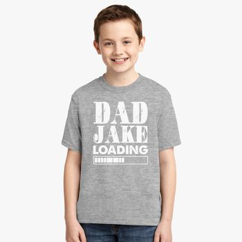 615446d6 Dad Joke Loading funny saying Youth T-shirt | Kidozi.com