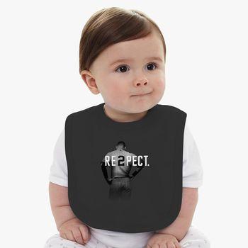 quality design 93f79 398e7 Respect Derek Jeter Baby Bib - Kidozi.com
