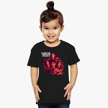 Age 2-6 Kids Toddler Greta Van Fleet Girl/'s T Shirts