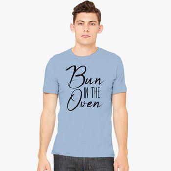 bun in the oven Men's T-shirt - Kidozi com