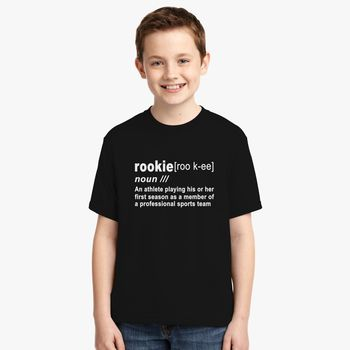 detailing f305f b1a42 Rookie Definition Donovan Mitchell Youth T-shirt - Kidozi.com