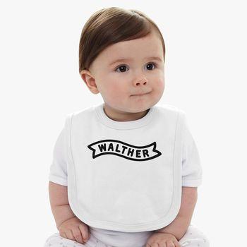 Walther Arms Logo Baby Bib - Kidozi com