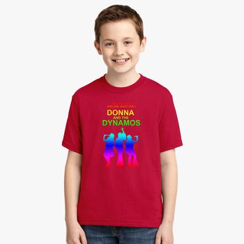 big sale 848e0 34d51 Donna And The Dynamos Youth T-shirt - Kidozi.com