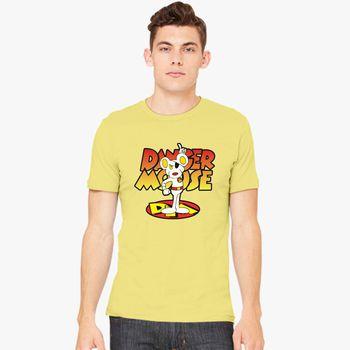 Dangermouse Men/'s T-shirt Yellow XL