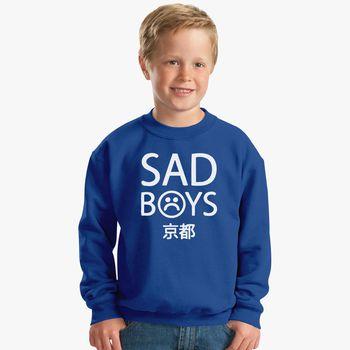 Yung Lean Sad Boys Logo Kids Sweatshirt Kidozi Com