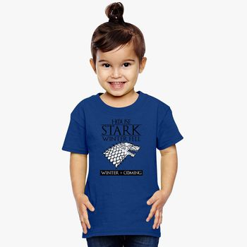 bd3d149d Game Of Thrones House Stark of Winterfell Toddler T-shirt | Kidozi.com