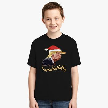 cec529bde35f6 santa donald trump Youth T-shirt