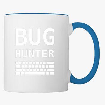 BUG HUNTER with Keyboard Coffee Mug - Kidozi com