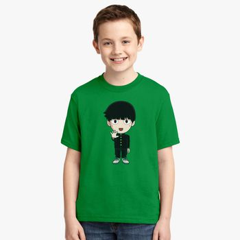 Toddler Tee Kid TShirt Kid Birthday Kid Gift Kids Tee Toddlers T-Shirt Mob Psycho Cool Kids T-Shirt