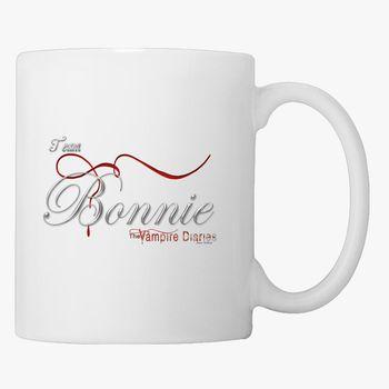 Vampire Diaries Team Damon 11oz Coffee Cup Unique Coffee Mug
