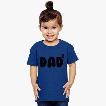 4ccac2c6 Dad Of 2 Toddler T-shirt | Kidozi.com