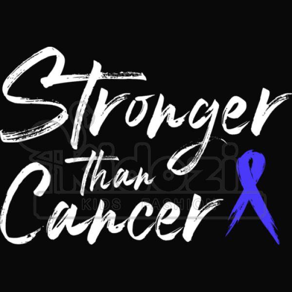 Stronger Than Cancer Colon Cancer Survivor Toddler T Shirt Kidozi Com