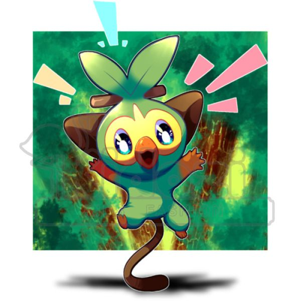 Grookey Pokemon Sword And Shield Grookey Grass Art Travel Mug Kidozi Com This is the place for most things pokémon on i thought it was hinted that grookey would be like a musician because he uses his stick as a drumstick. shield grookey grass art