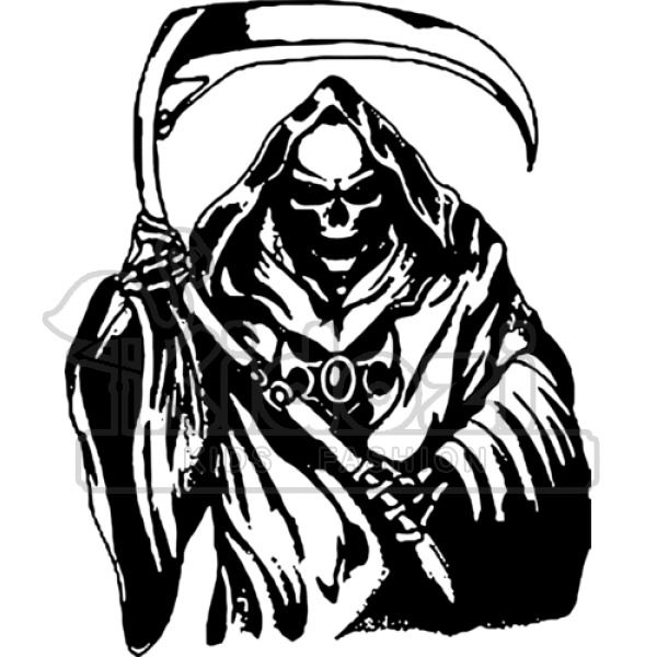 Kissdream 75 Animated Hanging Grim Reaper Skull with Shackles Chains Best Halloween Decoration Prop with infrared sensor, the sensing range is 5m