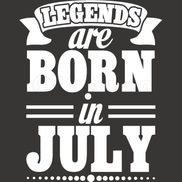 42769c9b0 Legends Are Born in JULY Men's T-shirt | Kidozi.com