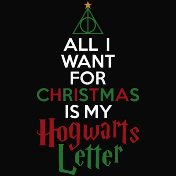 All I Want For Christmas Is My Hogwarts Letter Kids Sweatshirt