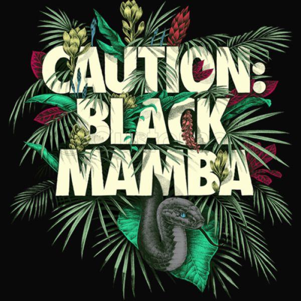 3c55f4a90e5ecc Caution Black Mamba Best Design By Erock Kids Tank Top