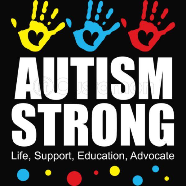 0c724c92be1 Autism Strong Love Support - Autism Awareness Kids Tank Top | Kidozi.com