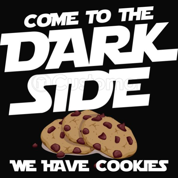 4f9eed17d Come to the dark side we have cookies Men's T-shirt | Kidozi.com