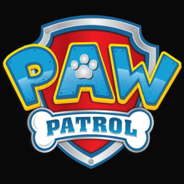 graphic about Paw Patrol Logo Printable named Paw Patrol Emblem Youth T-blouse
