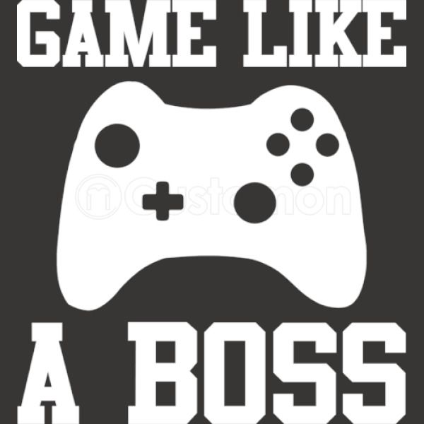 8e7c2ff3a Gamer, Game Like A Boss Men's T-shirt | Kidozi.com