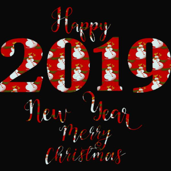 Merry Christmas Images 2019.Merry Christmas Happy 2019 New Year Kids Sweatshirt Kidozi Com