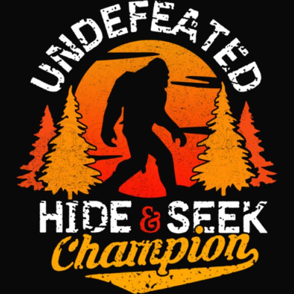 b6fa116d Bigfoot Hide and Seek Champion Of The World Kids Tank Top | Kidozi.com