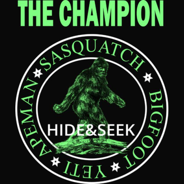 5641da69 Bigfoot Hide and Seek Champion Of The World Baby Bib | Kidozi.com