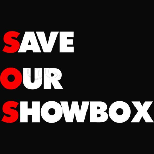0c301280aeb SAVE OUR SHOWBOX Kids Tank Top