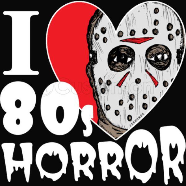 I Love 80s Horror Movies T Shirt Hoodie Kids Sweatshirt - Kidozi com