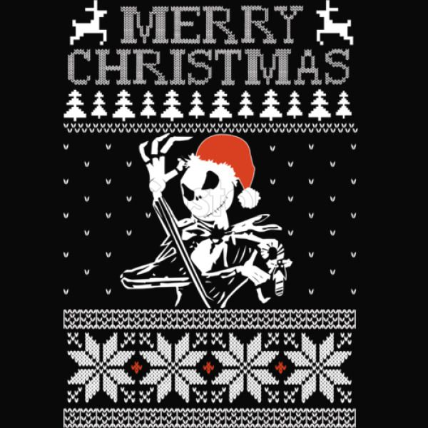 Jack Skellington Christmas.Jack Skellington Ugly Christmas Sweater Baby Bib Kidozi Com