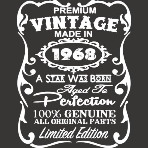 Vintage 1968 50th Birthday Shirt Mens T