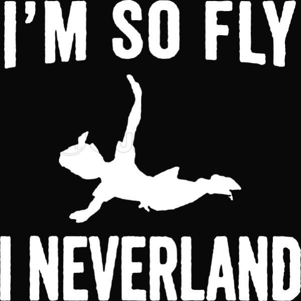 1b5a3d930 I'm So Fly I Neverland Men's T-shirt   Kidozi.com