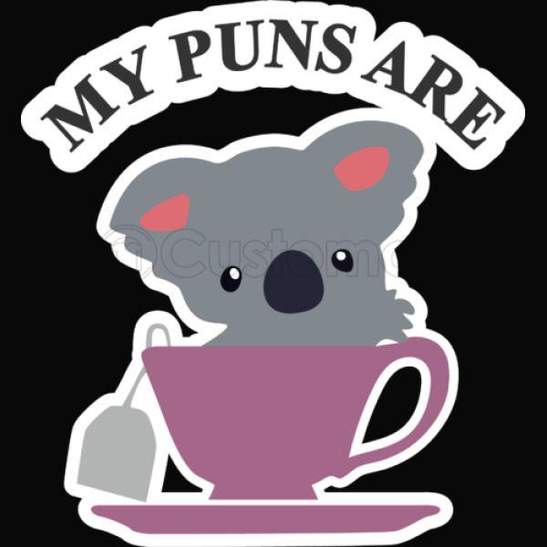 Koala Tea Puns Kids Sweatshirt - Kidozi com