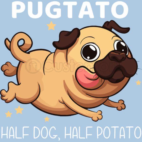 fe0dedd5d Funny Pugtato Pug half dog half patato Baby Onesies | Kidozi.com