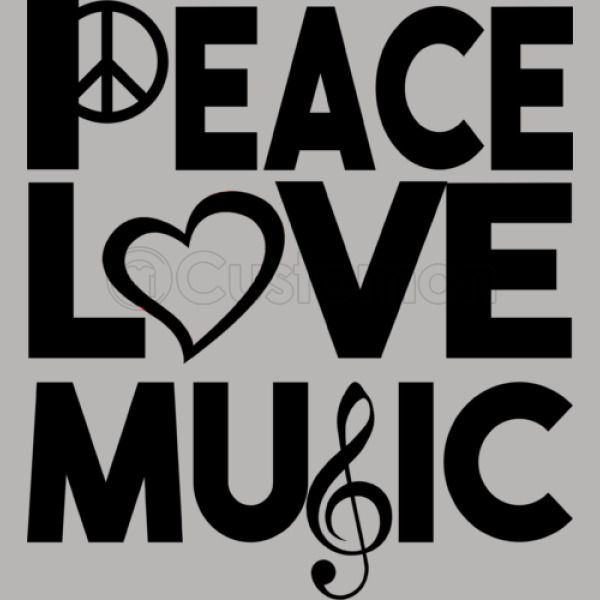 Peace Love Music Travel Mug - Kidozi com