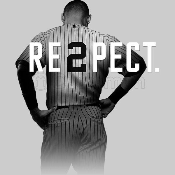 d585cf3a916 Respect Derek Jeter Men's T-shirt | Kidozi.com