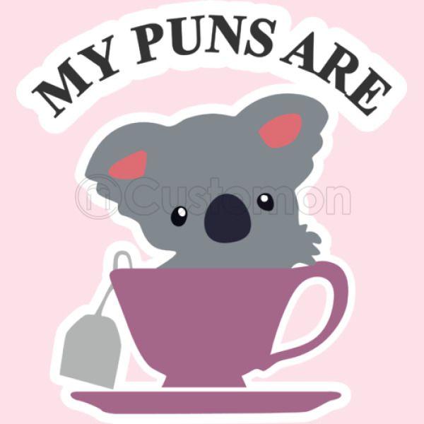 Koala Tea Puns Kids Hoodie   Kidozi com